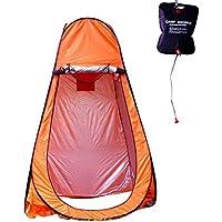 ワンタッチ コンパクト テント キャンプ 緊急時 対策 簡易シャワー