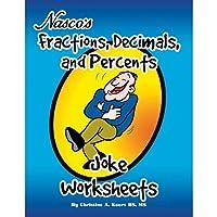 Nasco TB23191T分数、小数点以下のパーセント、およびパーセントジョークワークシート、63ページブック、4年生 - 9年生