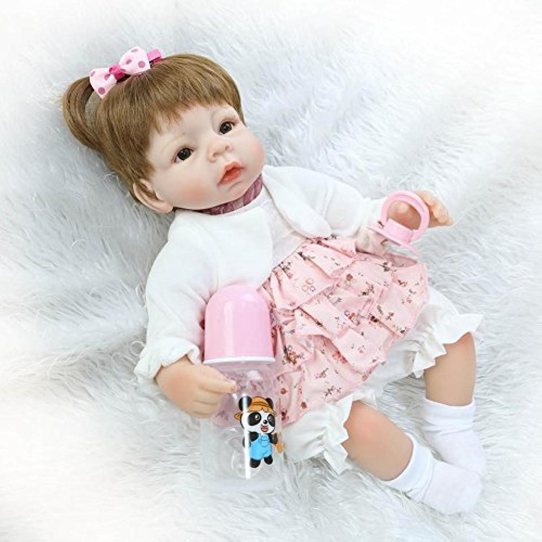 16インチ加重BabyベビーDoll Real Lookingベビー人形forキッズ