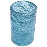 マイセン クリスタル ガラス 花瓶 ボヘミアガラス フラワーベース 20cm ターコイズ カラー 青緑 丸型 職人のハンドメイド 北欧 直輸入 Box入り