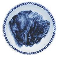 デンマーク製 ドッグ・プレート (犬の絵皿) 直輸入! Neapolitan Mastiff / ナポリタン・マスティフ