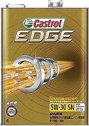 CASTROL(カストロール) エンジンオイル EDGE 5W-30 SN CF GF-5 全合成油 4輪ガソリン ディーゼル車両用 4L [HTRC3]