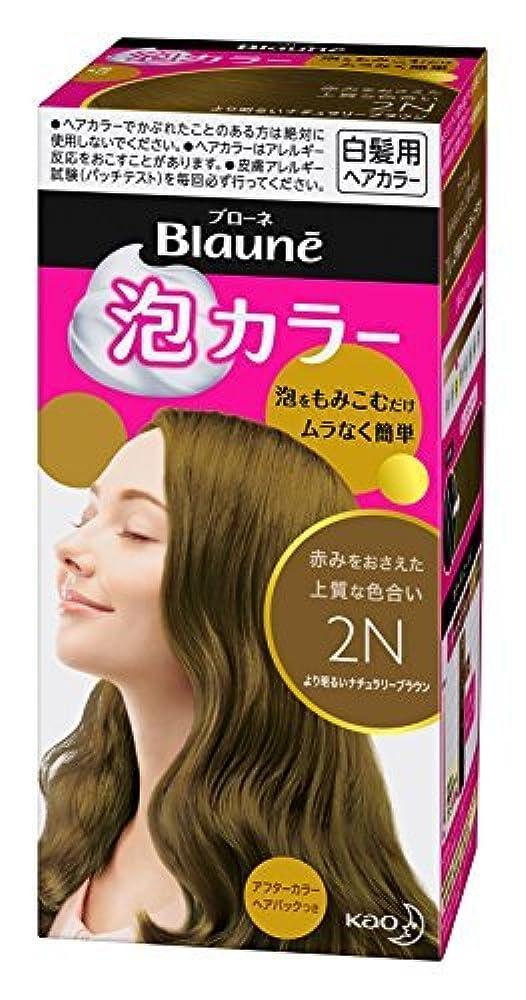 スポンサー追放する暗唱するブローネ泡カラー 2N より明るいナチュラリーブラウン 108ml [医薬部外品] Japan