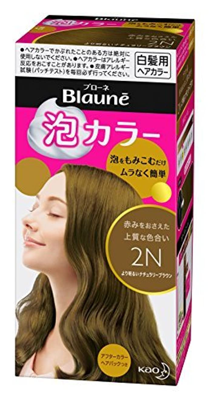 包帯ファン致命的なブローネ泡カラー 2N より明るいナチュラリーブラウン 108ml [医薬部外品] Japan