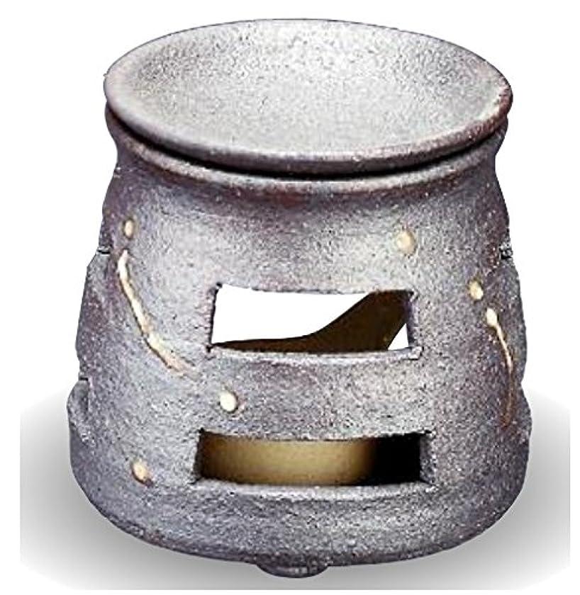 乗ってティッシュ監督する常滑焼 茶香炉(アロマポット)径9×高さ10cm