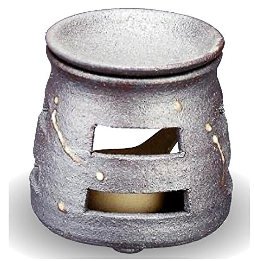 デザートチャンピオンシップ住む常滑焼 茶香炉(アロマポット)径9×高さ10cm