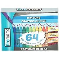 Promarx 64 CTクレヨンW。色付きのボックス、ケース24