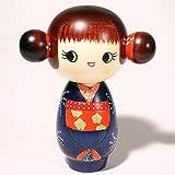 こけし ごきげん c273 こけし 創作こけし 日本の伝統 人形 日本製 手作り インテリア お土産 kokeshi