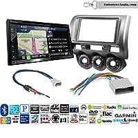 ボランティアオーディオKenwood dnx574sダブルDINラジオインストールキットwith GPSナビゲーションApple CarPlay Android自動Fits 2002–2005ホンダシビックSI