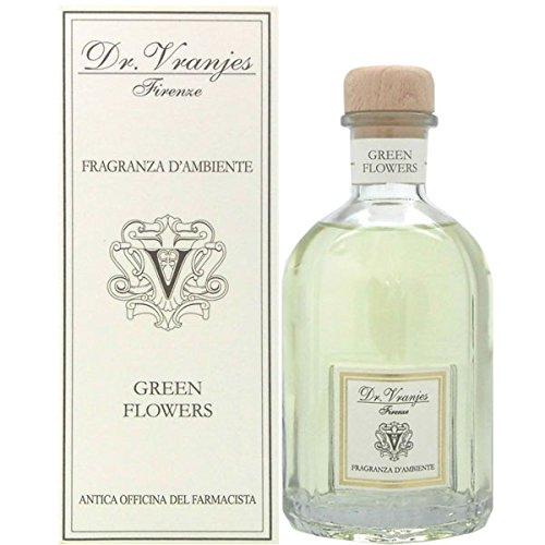 Dr. Vranjes ドットール・ヴラニエス リードディフューザー(スタンダードシリーズ) グリーンフラワー(GREEN FLOWERS) 250ml(2694) [並行輸入品]