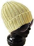 (アーケード) ARCADE コットン100% オールシーズン リブ編みニット帽 折り返し ニットキャップ ワッチキャップ アイボリー
