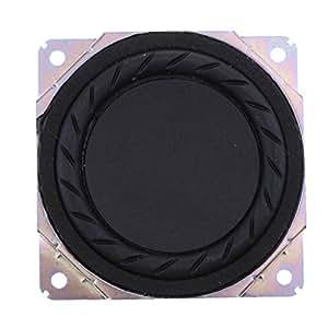 Fenteer 金属 80×80×3mm 3インチ オーディオ ウーファー 低音スピーカー 20ワットスピーカー 高性能