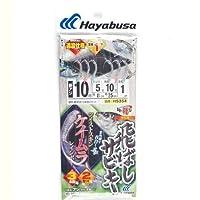 ハヤブサ(Hayabusa) 飛ばしサビキ ツイストケイムラレインボー 10-5