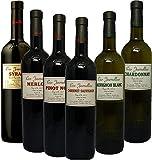 【Amazonワインエキスパート厳選】南仏シングルセパージュ飲み比べセット [フランス/赤ワイン/辛口/フルボディ/6本]