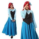 monoii 人魚姫 マーメイド コスプレ ハロウィン 衣装 コスチューム ドレス 432