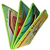 Fenteer 幼児 子供 知育 学習玩具 布の本 動物の本 布の絵本 早期学習 おもちゃ