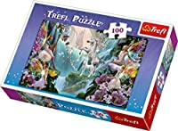 Trefl Magic Unicorns Jigsaw Puzzle (100 Piece) [並行輸入品]