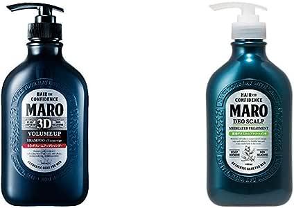 【セット買い】MARO 3Dボリュームアップ シャンプー EX 460ml & 薬用 デオスカルプ トリートメント 480ml 【医薬部外品】