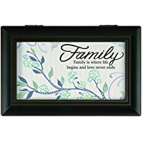 Carson Home Accents Family Music Box