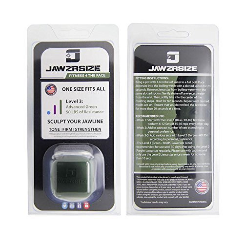 Jawzrsize Facial Toner, Jaw Exerciser And Neck Firming Tools - (A number of  Resistance Ranges Out there)