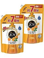 【まとめ買い】 ジョイ コンパクト 食器用洗剤 オレンジピール成分入り 詰め替え 超特大 1065ml×2個