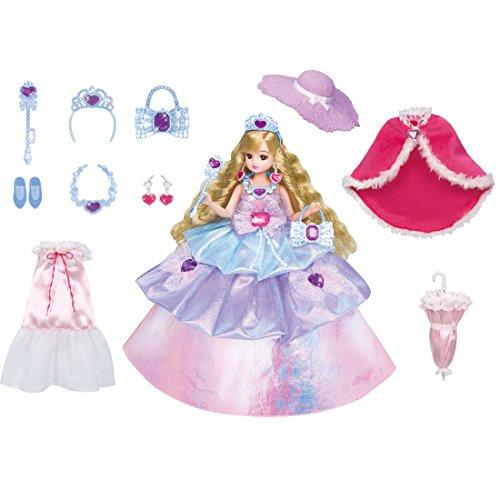 リカちゃん ドレス ゆめみるお姫さま プリンセスドレスセット デラックス
