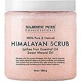 Himalayan Salt Body Scrub with Lychee Essential Oil 10 oz 283g ヒマラヤンソルトスクラブ ライチオイル
