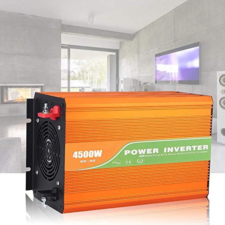 クスコフリンジ誓うハイブリッドインバーター、4500W高周波純粋な正弦波パワーインバーター家庭用電化製品のDC ACインバーター車の出力電圧220 v(24v)