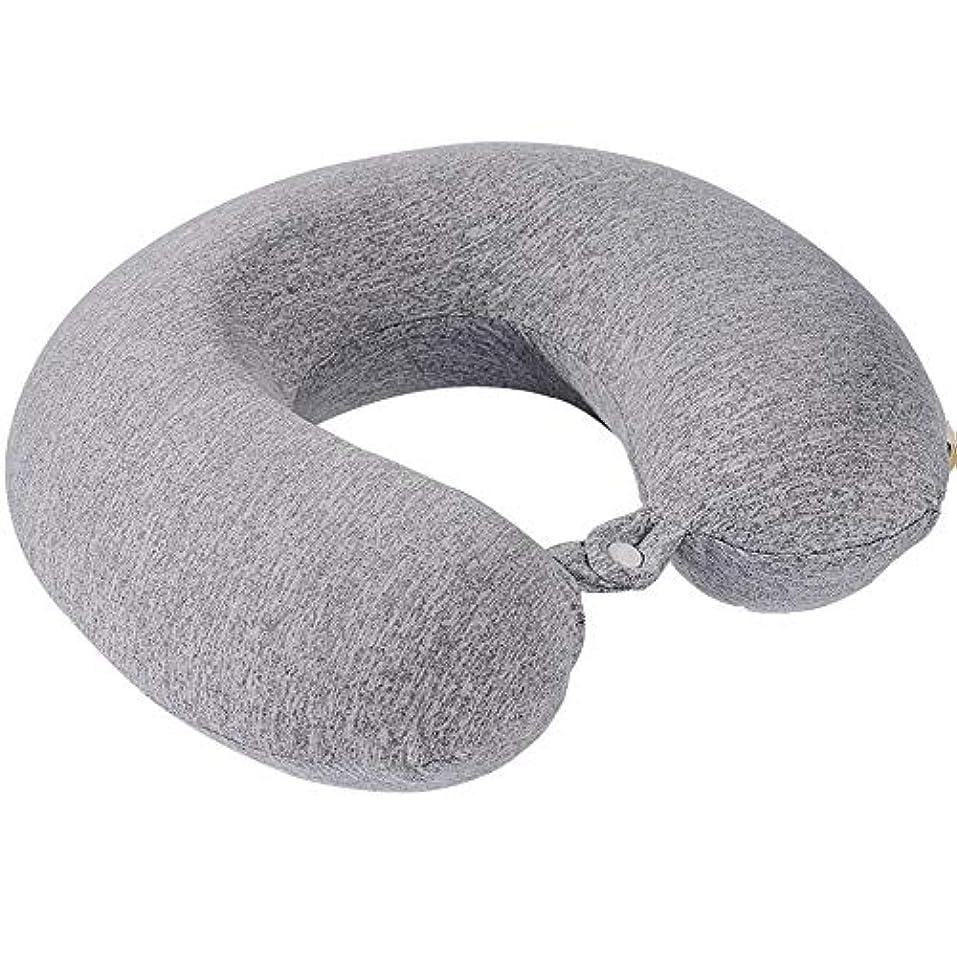 蜜メドレー分解するグラフェン暖房U字型枕、ポータブルで調整可能な頸椎修復暖房枕、航空機のU字型首枕