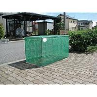 折り畳み式ゴミ収集箱W1200D600H650 (ステンレス)