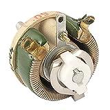 SODIAL(R) セラミックケーシング 25W 50ohm可変抵抗ワイヤー巻線抵抗器