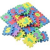 SIKIWIND 36pcs マット教育玩具ソフトマット らかい泡プレイマットカーペット 教育おもちゃ