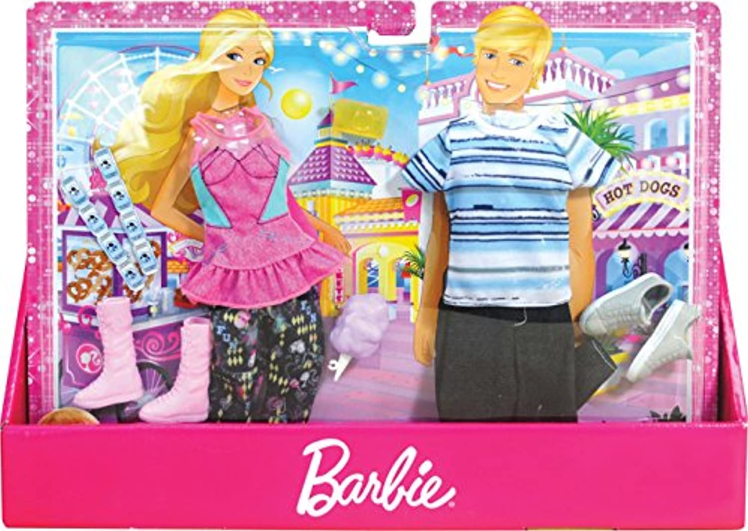 Barbie - Fashionistas Outfit Collection - Barbie - and Ken Party Time