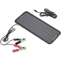 ソーラーパネル ALLPOWERS カーソーラーチャージャー 5W 18V 自動車 オートバイ トラクター ボート バッテリーへの補充電 メンテナンス