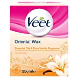 Veet Warm Wax Microwavable Jar - Essential Oils - 250mls