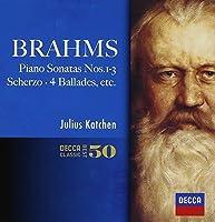 Brahms: Piano Sonatas by Julius Katchen (2014-05-14)