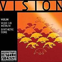 Thomastik Vision 1/8 Violin String Set - Medium Gauge [並行輸入品]