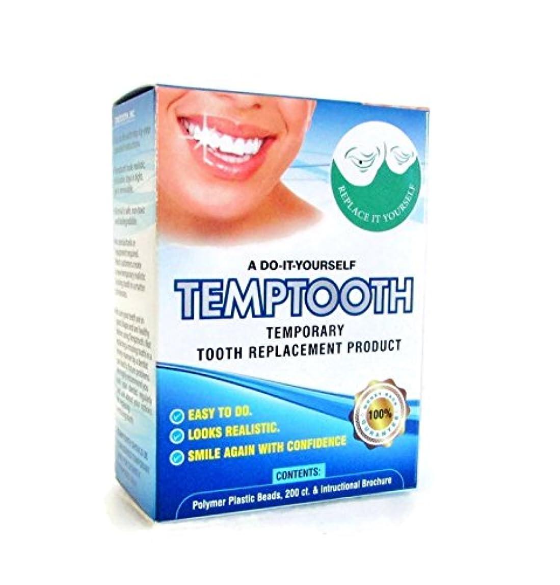 十分色合い泥自分で作るテンポラリー義歯/Temptooth Do It Yourself Tooth Replacement Product