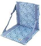 キャプテンスタッグ バットマン ワーナーブラザーズ 椅子 チェア カモフラージュ FD マット ブルーUY-5016