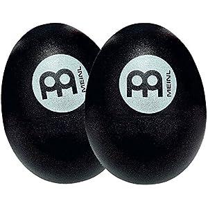 MEINL Percussion マイネル シェイカー エッグシェイカー ペア BLACK ES2-BK 【国内正規品】