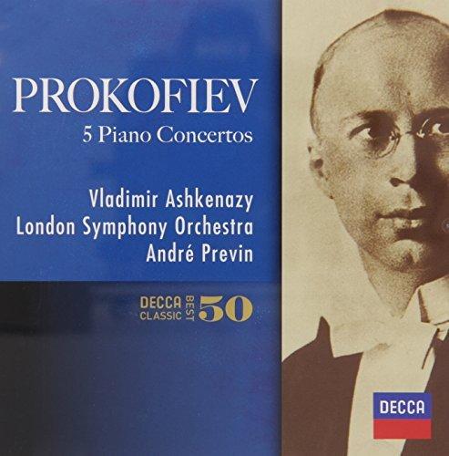 プロコフィエフ:ピアノ協奏曲全集