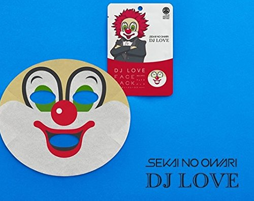 SEKAI NO OWARI 【DJ LOVE】フェイスパッ...