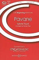Gabriel Faure: Pavane (2-Part) / ガブリエル・フォーレ: パヴァーヌ (二部合唱) 楽譜. For 2部合唱, ピアノ伴奏, 合唱