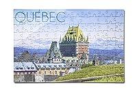 ケベック、カナダ–Chateau Frontenac ( 12x 18プレミアムアクリルパズル、130ピース)