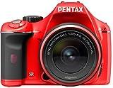 PENTAX デジタル一眼レフカメラ K-x レンズキット レッド