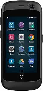 Unihertz Jelly Pro, 世界最小の4Gスマートフォン, 2GBのRAM と 16GBのROM を搭載したAndroid 8.1 Oreo ロック解除された, ブラック 黒