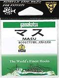 がまかつ(Gamakatsu) マス フック 茶 8号 釣り針