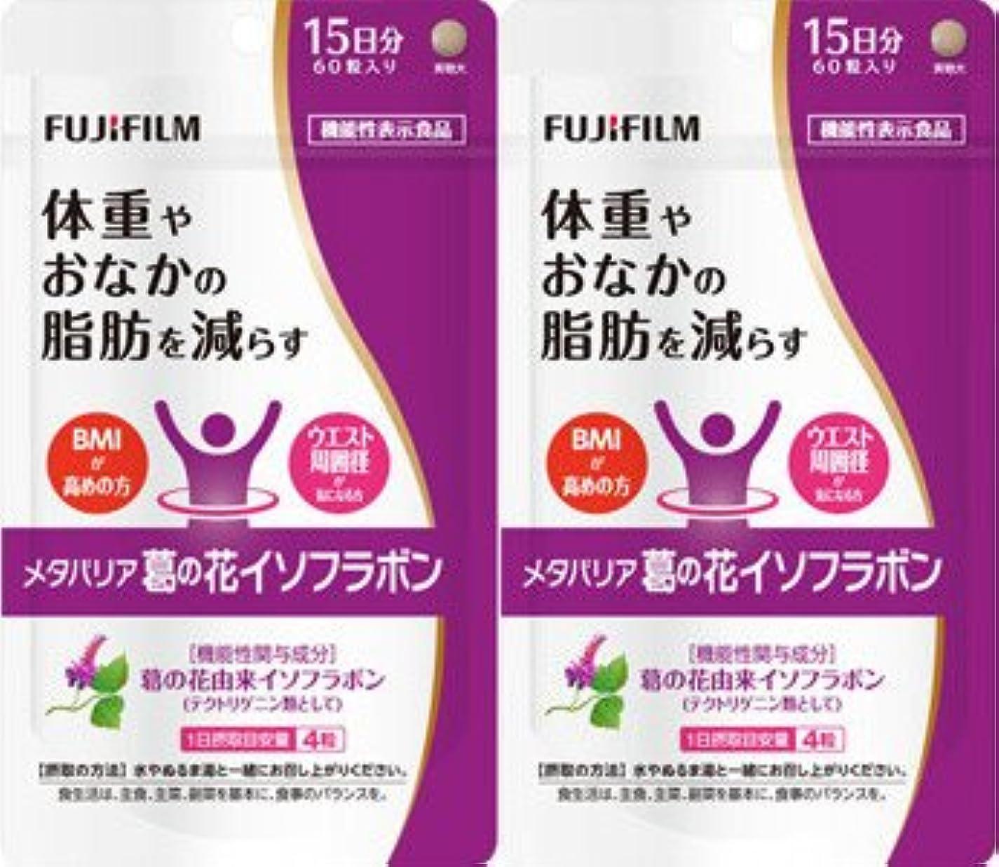 リスキーな給料更新【2個セット】メタバリア 葛の花イソフラボン 60粒