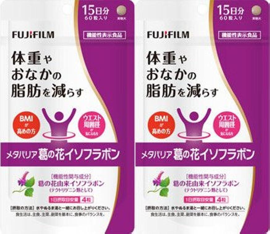 熟達した医学観点【2個セット】メタバリア 葛の花イソフラボン 60粒
