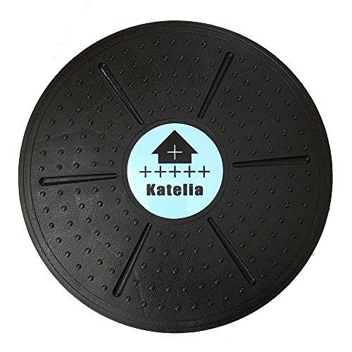 Katelia(カテリア) バランスボード バランスディスク シェイプアップ 体幹 トレーニング エクササイズ コア マッスル ダイエット 直径36cm トレーニング一覧書付